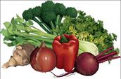 Debes comer muchas verduras