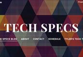 Tech Specs Blog