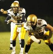 Jake Rudock runs the offense in High School.