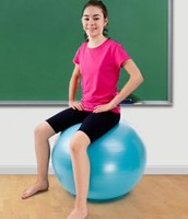 Consider yoga (stability) balls instead of chairs.