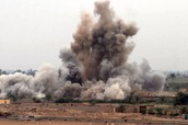 Air strikes kills dozens of civilians