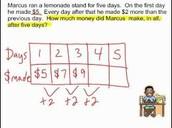 Math: Working on a problem