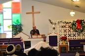 Rev. Verden Sharing his Testimony