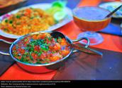 Indian food around the world