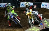 Chad Reed and Ricky Carmicheal