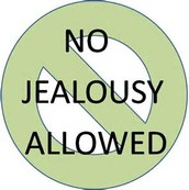 Jealousy will ruin everything