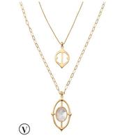 Fortuna Stone Necklace