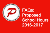 FAQs: Proposed School Hours 2016-2017