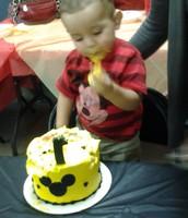 Natheniel 1st birthday