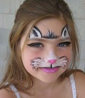 Budding Artist Face Painting