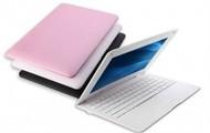 white laptop netbook
