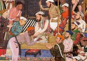 Painting from the Mughal Empire