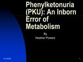 What is PKU?