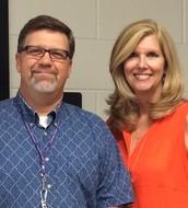 Ms Papso and Mr Hicks