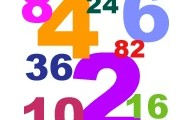 Even numbers