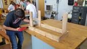 Outdoor Classroom Benches