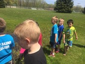 Nature Walk with 2nd Grade