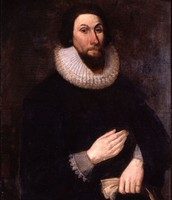 John Winthrop, a great, great, great (it goes on...) grandfather of mine!