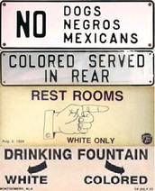 Types of Jim Crow Laws and segregation