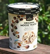 Alaskan Moose Track Ice Cream
