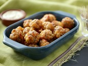 Sweet Potato Sausage Balls