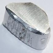 Aluminium in its pure form