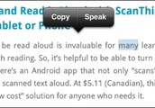 iPad Text to Speech (From makelearn.org)