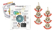 Coral Cay Earrings - Wear Multiple Ways!!