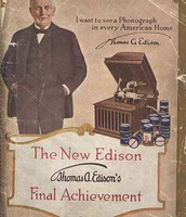 Edison invents the Phonograph.