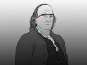 Benjimin Franklin with Google Glass