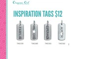 NEW Insperation Tags