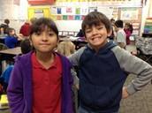 Jacob and Alex P.
