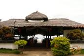 Located beachfront