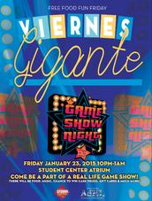 Sabado Gigante...on a Friday Night!