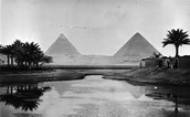 The Nile in Front of Pyramids