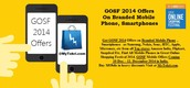 GOSF 2014 Offers on Branded Mobile Phone, Smartphones