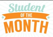 5) August Students of the Month!