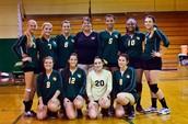 Volleyball Team Named Scholar Athlete Team