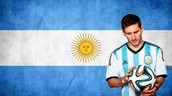 Flag And Messi