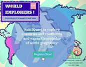 World Explorers! Geography Camp