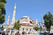 Sultanahemt Mosque (known as the blue Mosque)