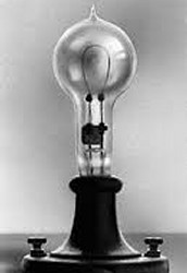 3. Invention of the light bulb