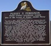 Plessy vs. Ferguson monument