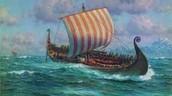 Viking's ship