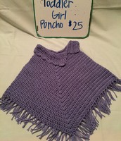 Toddler Girl Poncho $25
