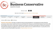 Business Conservative