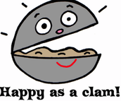 As happy as a Clam