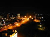 cameroun ville la nuit