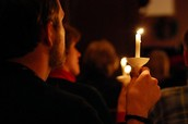 Christmas Eve Candlelight and Communion service