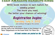 Teen Amazing Reading Race